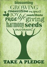take the pledge to plant trees